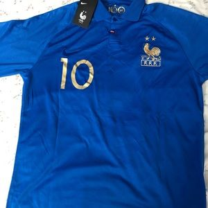 Mbappe France 100 year anniversary Jersey